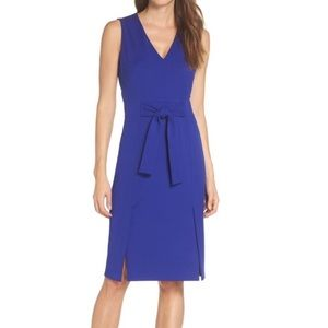 Vince Camuto cobalt blue sheath dress size 6